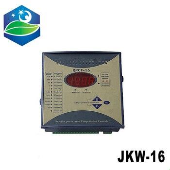 JKW-16 power factor 380v 12steps 50/60Hz JKW16 RPCF Power regulator factor Compensator Digital Power Factor Meter фото