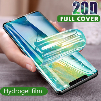 Hydrogel Film Phone Protective full cover for Meizu Pro 7 6 Plus 5 HD Phone Screen Protector on Meizu 16 Plus 15 Lite Not Glass 1
