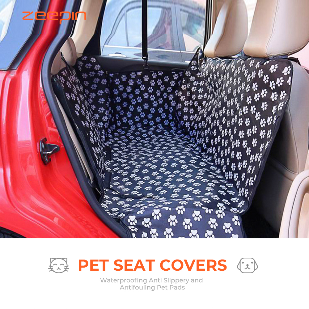 For Volvo V60 Hammock Rear Black HD Waterproof Seat Cover