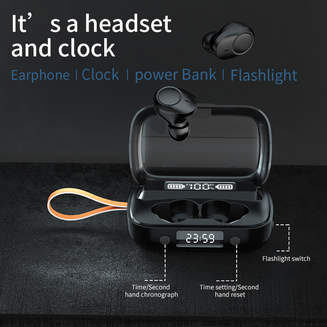 Mini Earbuds Wireless Bluetooth 5.1 Headset A13 Bluetoot headphones  HiFi Stereo Earphones TWS earphones for Sports and Gams 5