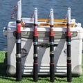 1 8 м-3 6 м  Мультифункциональный спиннинг  сверхпрочный для рыбалки  Удочка из пластика FRP  телескопическая  для путешествий  ультракороткий  р...