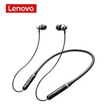 Lenovo xe05 pro fones de ouvido sem fio bluetooth 5.0 pele-beijou material ipx5 à prova dwaterproof água e sweatproof esporte fones de ouvido com microfone
