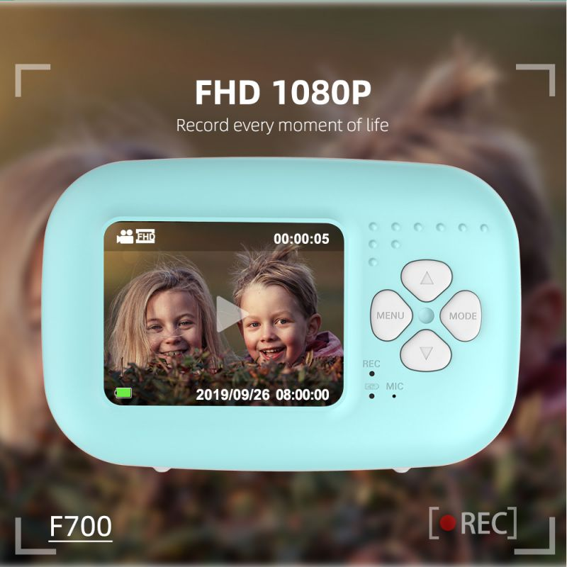 Newest High Quality Kids Digital Video Camera Toys 2.0 Inch Mini HD Screen Color Display Camera Kids Gift Toys For Children