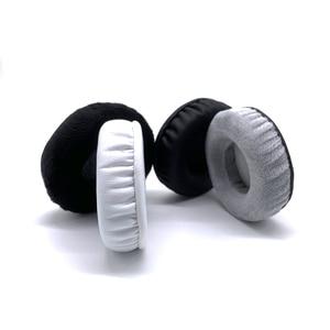Image 5 - Stanton DJ Pro 2000 헤드셋 교체 용 귀마개 커버 컵 슬리브 베개 수리 부품 용 이어 패드 벨벳