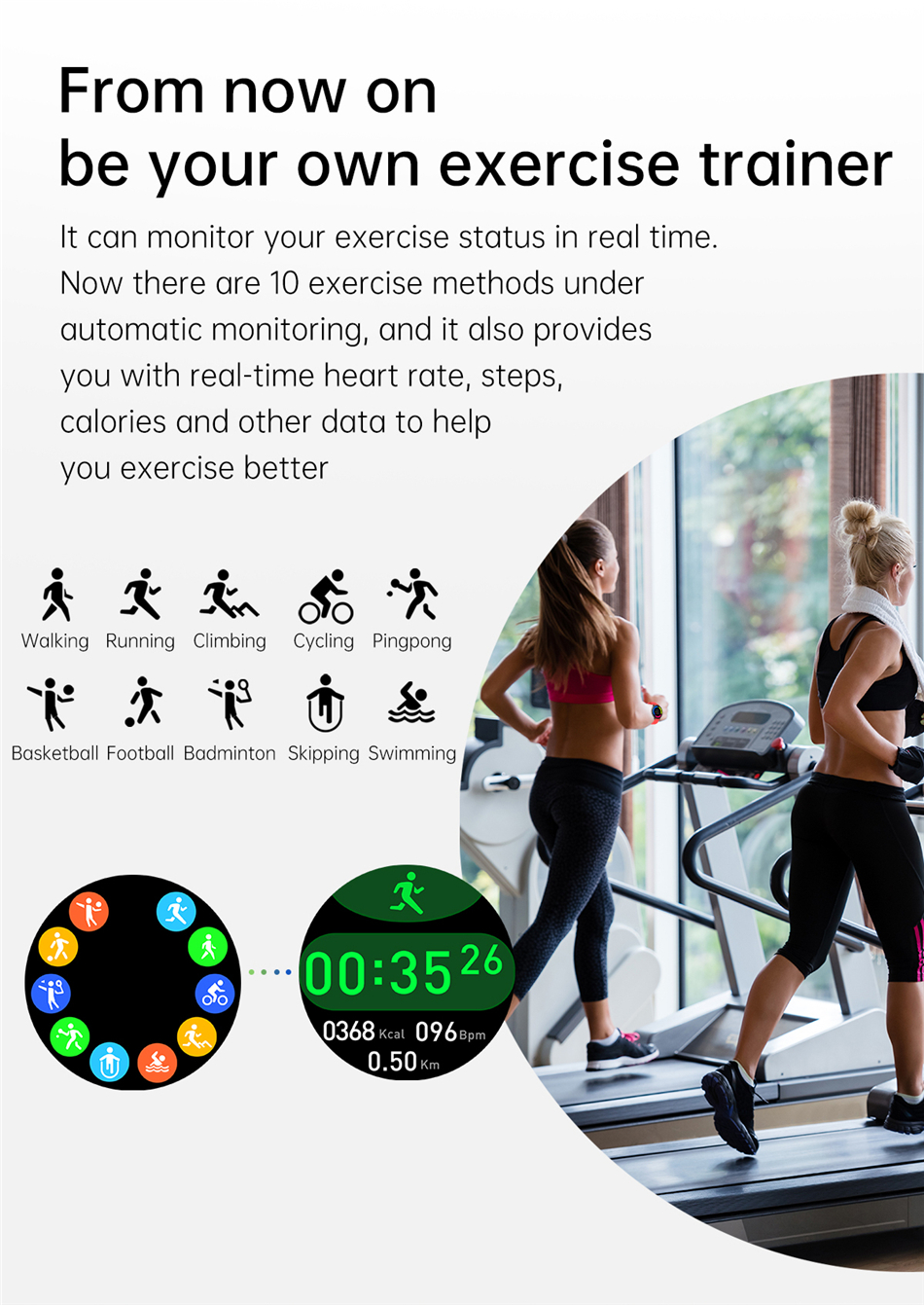 H606a2b8f09694fb4a8f1c0eb1a1f8bfcv 2021 Bluetooth Call watch Smart watch For men And women Full touch fitness tracker Blood pressure Smart clock ladies Smart watch