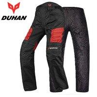 with warmer lining wearproof 600D oxford DUHAN DK02 motorcycle knights motocross pants sport trousers Moto knee M L XL XXL XXXL