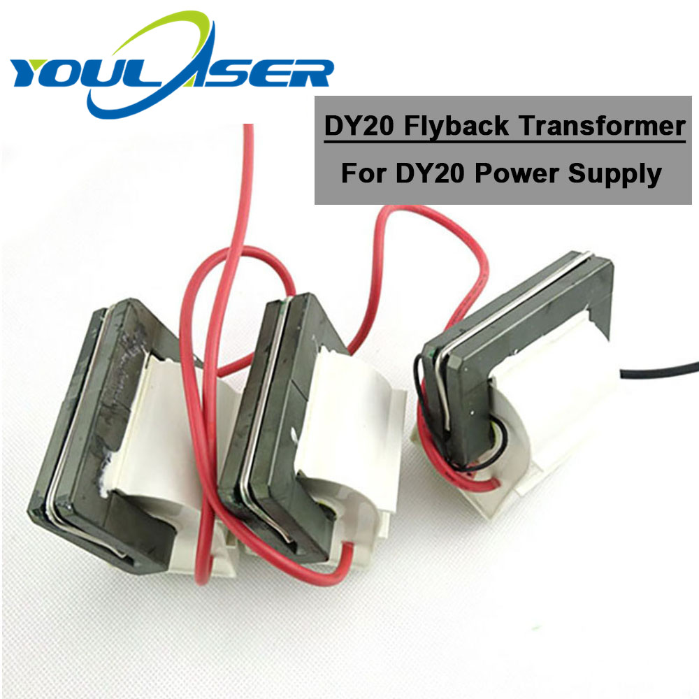 RECI DY20 High Voltage Flyback Transformer For 130W 150W 3pcs/lot Co2 Laser Power Supply