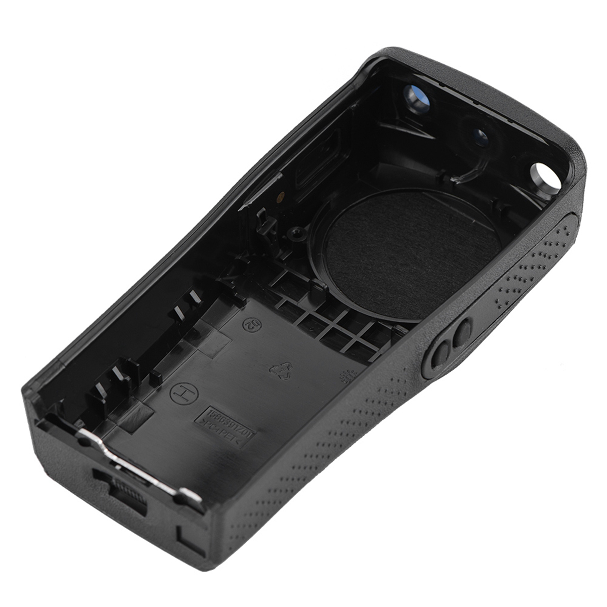 Walkie Talkie Front Case Replacement Housing Shell Kit Case Portable Housing Case With 2 Knobs For Motorola EP4 Black​​