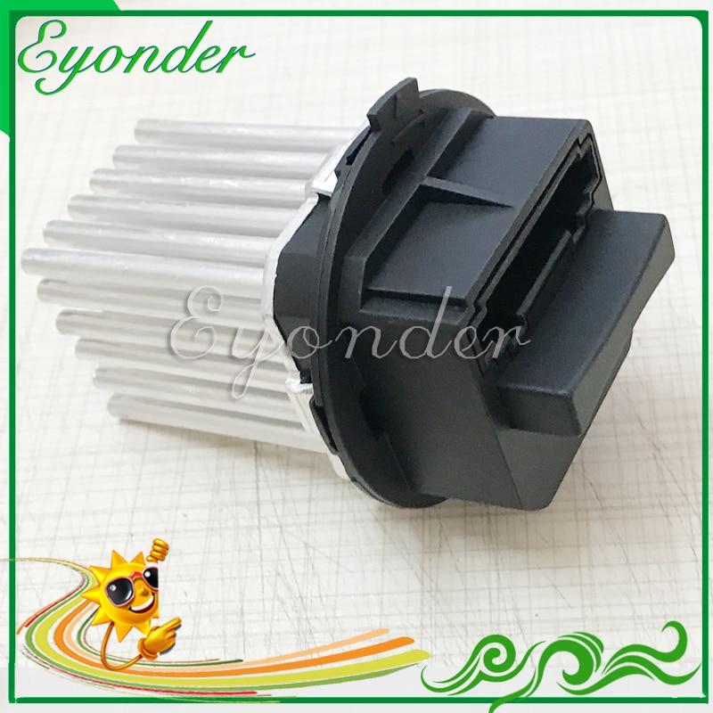 Ac a/c 히터 블로어 모터 제어 모듈 volvo s60 s80 v60 v70 xc60 xc70 30767040 용 가열 팬 저항 레귤레이터