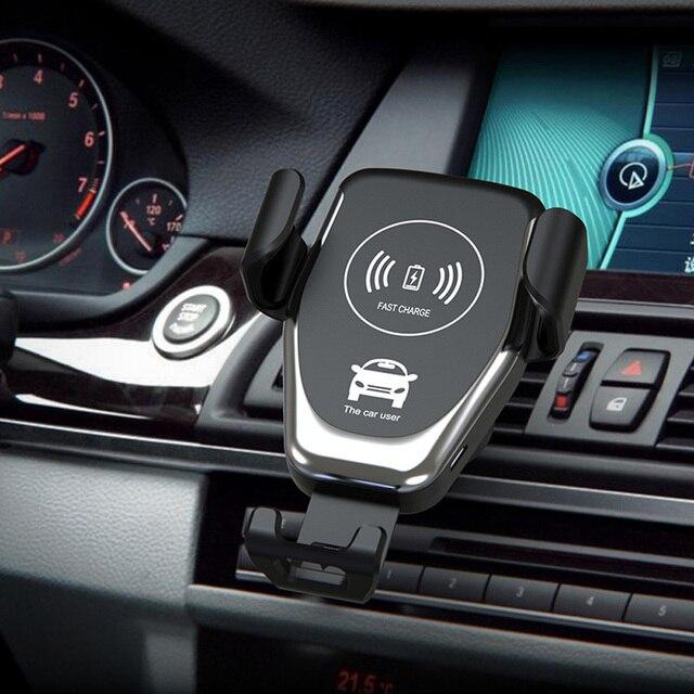 Ładowarka samochodowa uchwyt telefonu dla Toyota camry corolla RAV4 Yaris Highlander/Land Cruiser/PRADO Vios Vitz/Reiz Prius Levin korona Aven|Uchwyty samochodowe|   -
