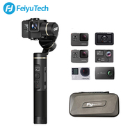 FeiyuTech Feiyu G6 3 Axis Handheld Gimbal Gopro Action Camera Stabilizer OLED Screen for Gopro Hero 6 5 Sony RX0