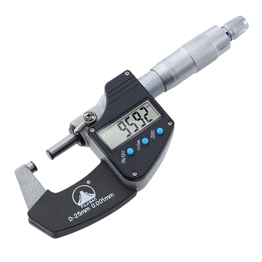 Medidor de Medição Tela Digital Fora Micrômetro Eletrônico Caliper Lcd Mod. 175651