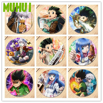 Free Shipping Anime HUNTER HUNTER Brooch Pin Boys girls Cosplay Badges For Clothes Backpack Decoration Pin Jewelry B039 free shipping kpop bigbang gd top made brooch pin badges for clothes backpack decoration jewelry b058