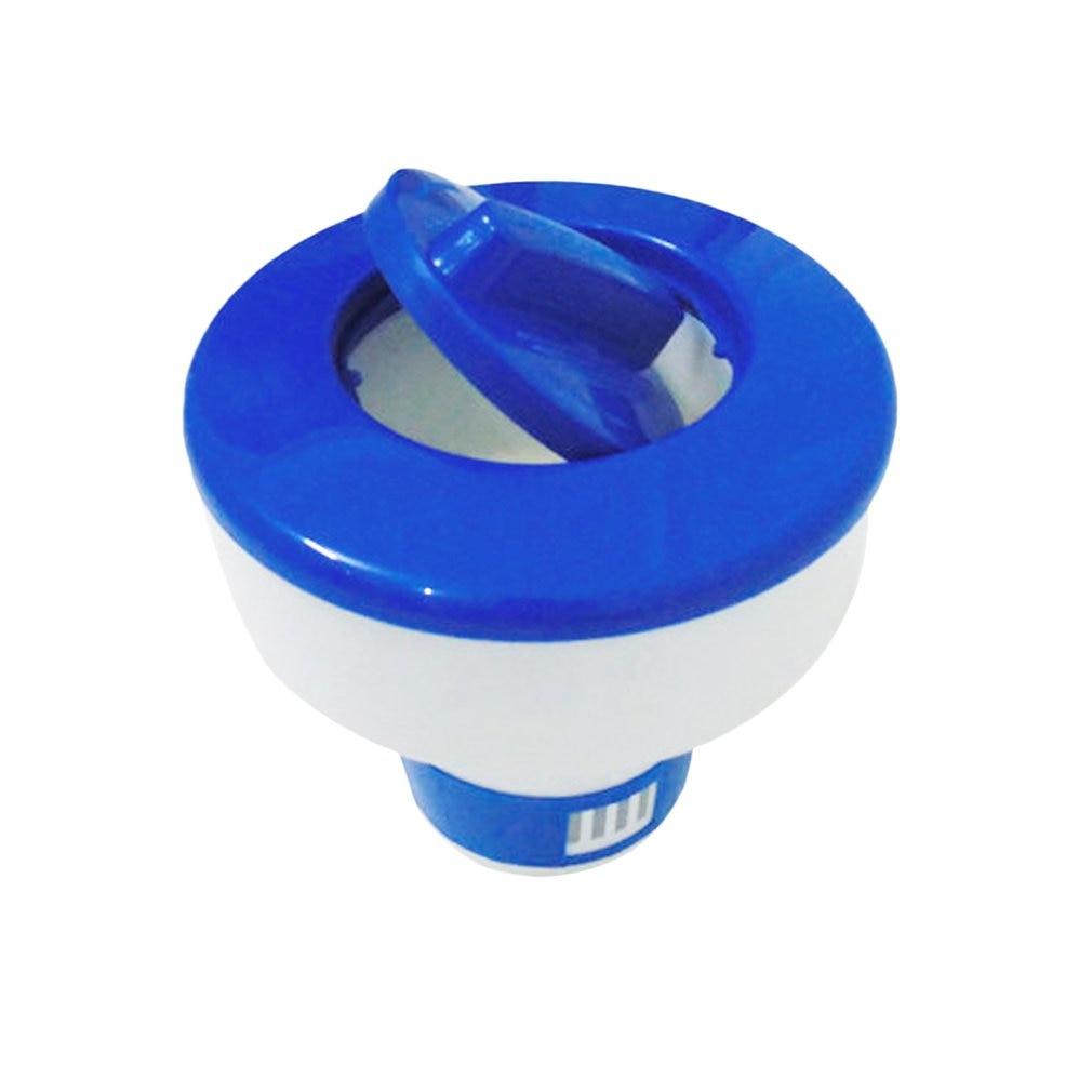 Chlorine Chemical Tablet Floating Dispenser Bromine Tablet Holder Automatic Pool Chemical Dispenser For Swimming Pool Spa