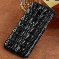 100% Genuine Crocodile Leather Phone case For Oneplus 7 7 Pro 6 6T 5T 5 Covers Luxury marvel Cases for One Plus 7T Pro 7 8 Pro|Half-wrapped Cases|Cellphones & Telecommunications -