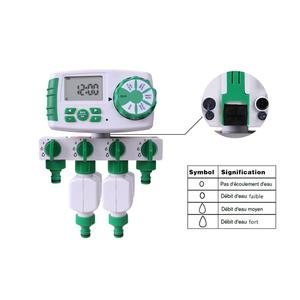 Image 5 - Автоматический 4 зонный таймер полива сада, таймер полива сада с 2 соленоидными клапанами