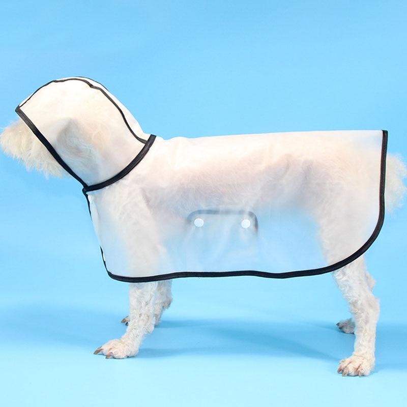Pet Dog Rain Coat For Small Large Dogs French Bulldog Husky Transparent Cloak Coat Jacket For Rain 8 Sizes Raincoat Clothing #9