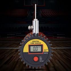 Cyfrowy ręczny miernik ciśnienia piłki do testera siatkówki piłkarskiej X4YD w Manometry od Narzędzia na