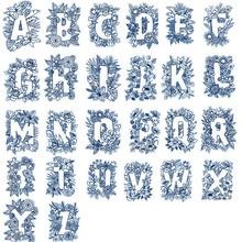 26pcs/set 3*4inch Unique A Z Alphabets Letters Transparent Clear Stamps for DIY Scrapbooking Paper Cards Making Crafts 2019 New
