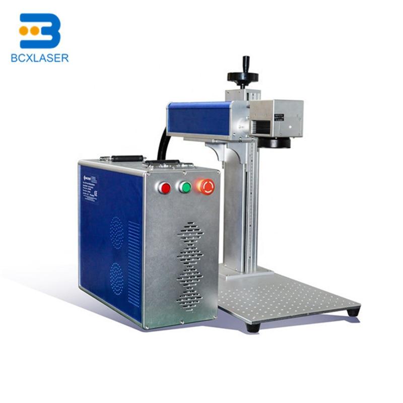 Autofocus Split Fiber Laser Marking Engraving Machine For Nameplate