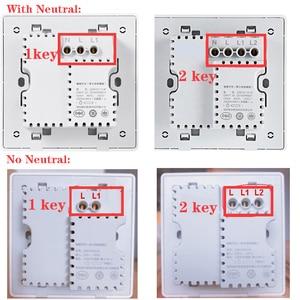 Image 5 - Xiaomi Aqara Wall Switch D1 ZigBee Smart Light Remote Control Wireless Key Zero Line Fire Wire NO Neutral 3 Key Switchs MI Home