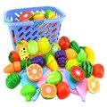 Пластиковая игрушка для ролевых игр, фрукты, овощи, ролевые игрушки для детей, развивающие игрушки