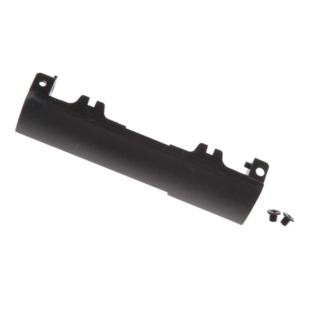 2x czarny plastik HDD dysk twardy pokrywa caddy taca Bezel dla Dell Latitude E6440 wyposażony w 2 śruby mocujące