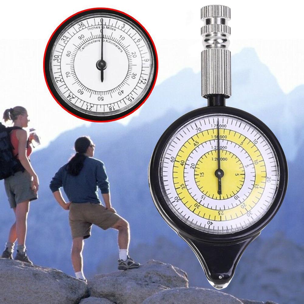 Outdoor Climbing Sport Map Rangefinder Odometer Multifunction Compass Curvimeter