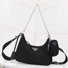 2020 New Women Fashion Brand Hobo Bags Canvas Small Crossbod