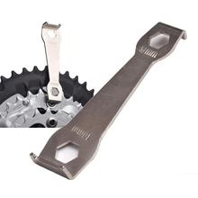 цена на Bike Crankset Bolt Fixed Wrench Bicycle Repair Tool Mountain Bike Chain Wheel Disassembly Spanner Crank Arm Bolt