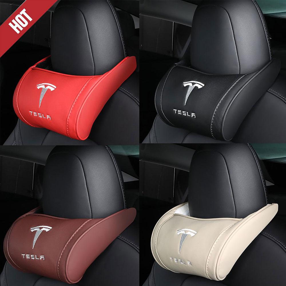 for Tesla Model 3 S X model y  Neck Pillow Cushion Neck Headrest Car Seat Headrest Model3 model s model x1PC
