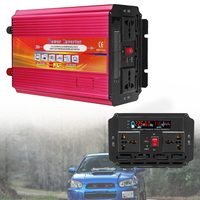 Inverter 12V 220V 2000/3000W/4000W Voltage Transformer Converter DC 12V To AC 220V Car Inverter 12V/24V To 110V/220V LCD