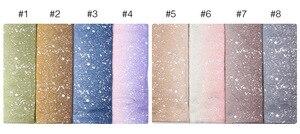 Image 5 - Ombre glitter wiskoza hidżab szalik szale gradientowe bawełniane szale muzułmańskie wrap pałąk 16 kolorowe szaliki/szalik 180*90cm