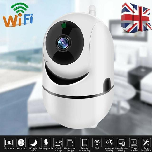720P WiFi IP Camera Home Security Baby Monitor Clever Dog CCTV Night Vision Motion Detection And Alarm Security Indoor Camera 1