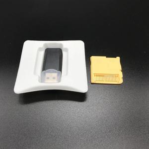 Image 2 - 100 סטים\חבילה עבור R4 זהב Pro SDHC עבור Nintendo DS/3DS/2DS/מהפכה תיבת עם USB מתאם