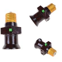 Portalámparas E27 portalámparas lampara interruptor de bases E27 Socket AC 111V 240V LED E27 1 Uds colgante Vintage