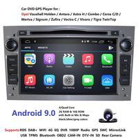 2 Din Android 9,0 автомобильный dvd плеер gps для OPEL Vauxhall Astra Meriva Vectra Antara Zafira Corsa Agila 7 gps радио