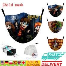 Adulto máscara de algodão reutilizável criança boca máscaras tecido lavável máscara boca pano ativado filtro de carbono capa protetora