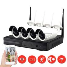 IMPORX 4CH Wireless CCTV Camera System NVR Wifi Camera Kit Video Surveillance Smart Home Security IP Camera Set Outdoor Indoor недорого
