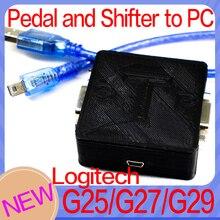 محول USB إلى الكمبيوتر ، لـ logitech G27 logitech G29 G923 SHIFTER و SPEDALS