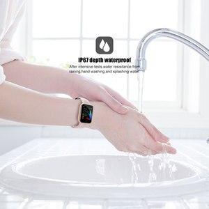 Image 3 - PEACHFIT Y2 Đồng Hồ Thông Minh Đo Nhịp Tim Huyết Áp Suất Vòng Tay Thể Thao Đồng Hồ Nam Nữ Đồng Hồ Thông Minh Smartwatch PK B57 P80 IWO 8 9 10 11