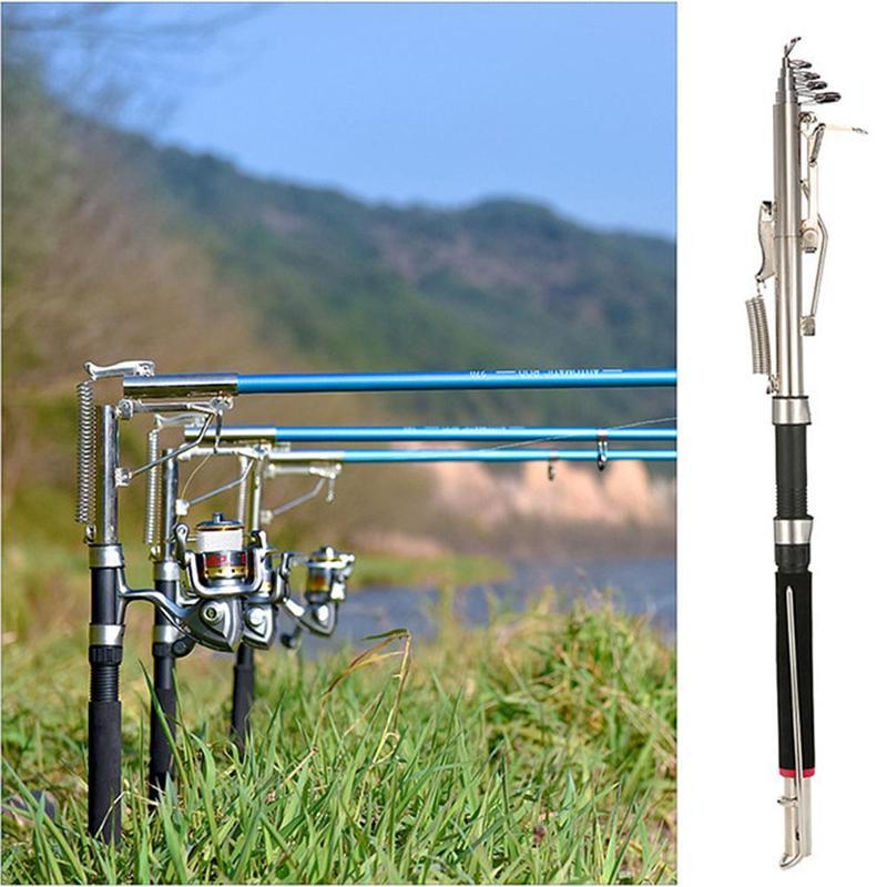 2.1/2.4/2.7m Automatic Fishing Rod Sensitive Telescopic Fishing Pole Rod Sea Device Ice Glass Fiber Carp Fishing Tackle De Pesca