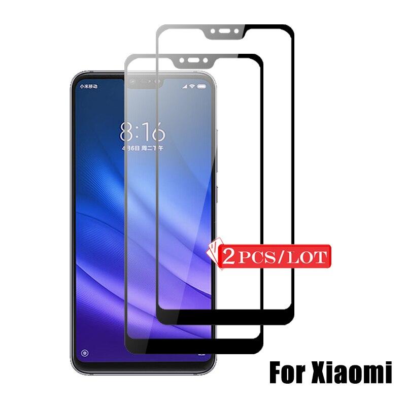 2 PCS Screen Protector For Xiaomi Mi 8 Lite Mi8 SE Mi 9 Mi9 Se Tempered Glass For Xiaomi Redmi 7a 8 8a Note 6 7 8 Pro Glass Film