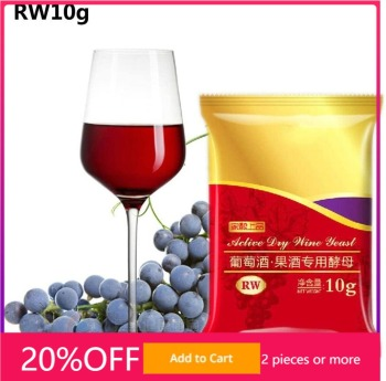 RW Red Wine Yeast 10G Active Dry fermentation distillation distiller home Koji fermentation for grapes цена 2017
