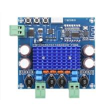 Bluetooth TPA3116D2 High Power Amplifier Board Dual Channel 2*50W Digital Bluetooth Stereo Wireless Class D Amplifier DIY Module 300w 300w dc20 dc50v tas5630 stereo dual channel high power class d digital amplifier board