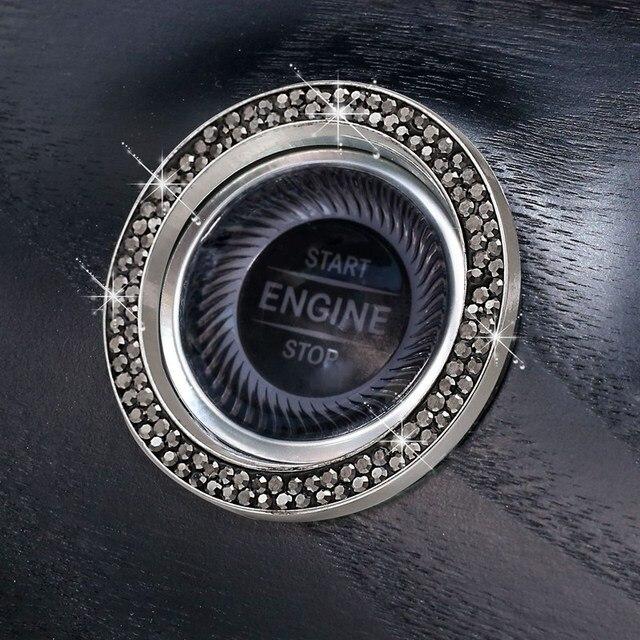 Купить автомобильные однокнопочные кнопки запуска и остановки двигателя картинки цена