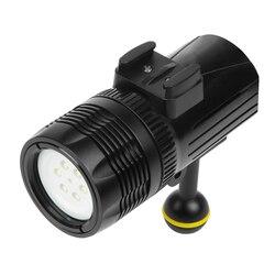Diving Flashlight Torch Scuba Underwater 1000LM CREE XM-L R3 Spotlight for GoPro Hero 6/5/4/3 Video Camera Light