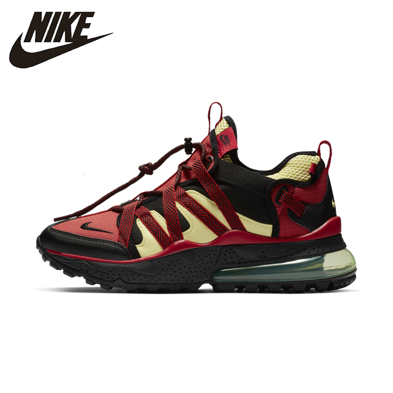 US $66.25 75% OFF|NIKE AIR MAX 270 BOWFIN Men Running Shoes New Arrival Leisure Shock Absorbing Comfortable Breathable Outdoor Sneakers #AJ7200 in