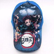 NEW Demon Slayer Kimetsu Não Yaiba Anime Cosplay Adereços de Hip hop chapéu de algodão cap sol Modelo brinquedos Presente para As Crianças