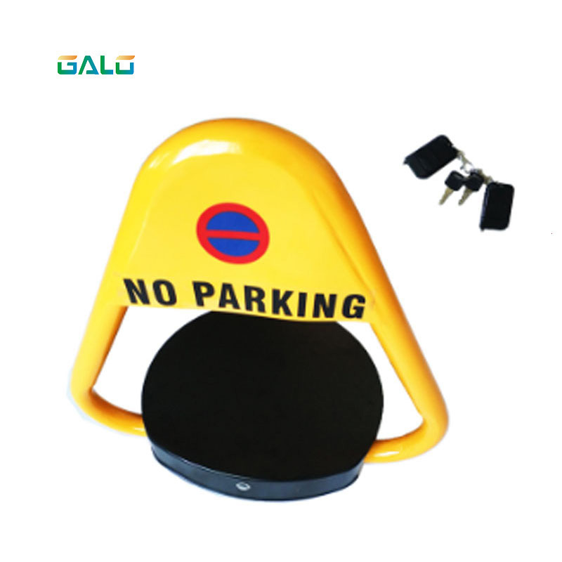 Automatic Remote Control Triangle Parking Barrier Lock For Car VIP Parking Space